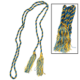 Picture of the honor society cords