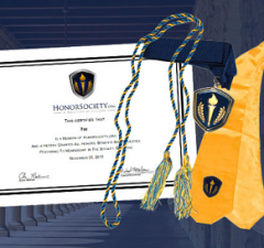 Image of HonorSociety.org Regalia