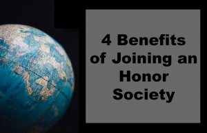 By you taking the 10-20 minutes out of your day to click on that link in your email and register with the Honor Society that you have been specifically chosen to be a part of, you are opening up your academic and professional world to opportunity. Here are the benefits of joining an Honor Society in college: